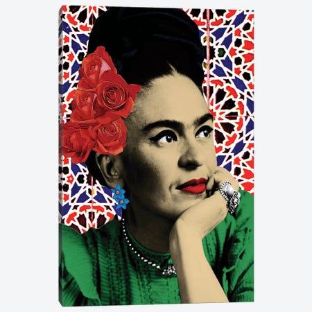 Magdalena Carmen Frida Kahlo Y Calderon Canvas Print #APH68} by Ana Paula Hoppe Canvas Art