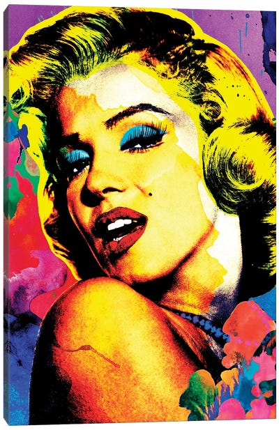 Marilyn Pop Art Canvas Art Print