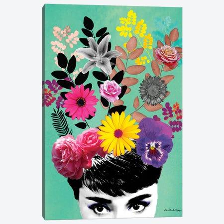 Audrey & Flor Canvas Print #APH6} by Ana Paula Hoppe Art Print
