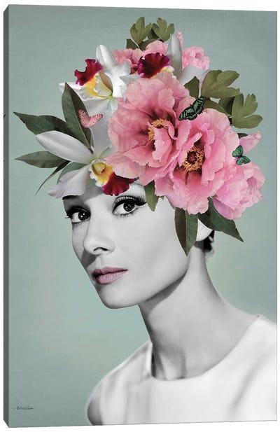 Audrey Tiffany Canvas Art Print