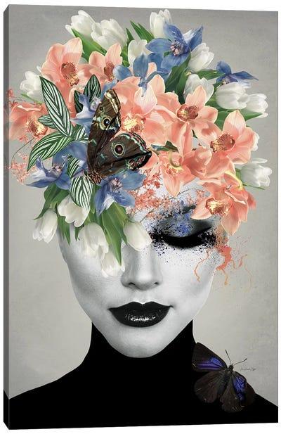 Spring In London Canvas Art Print