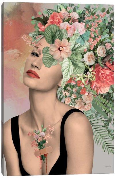 Piaf Canvas Art Print
