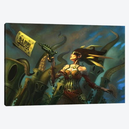 Locked and Loaded Canvas Print #APK10} by Alan Pollack Canvas Artwork