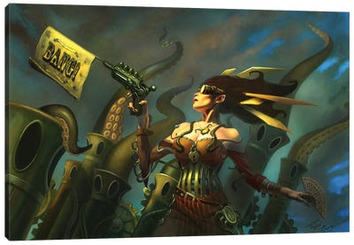 Locked and Loaded Canvas Art Print