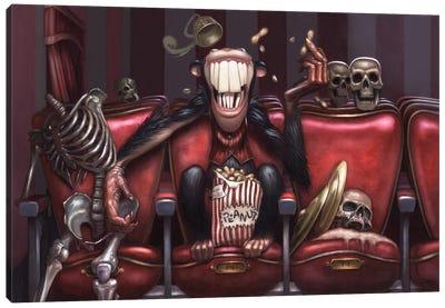 Monkey Buzz Canvas Art Print