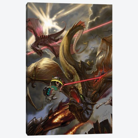 The Book of Wars Canvas Print #APK13} by Alan Pollack Canvas Wall Art