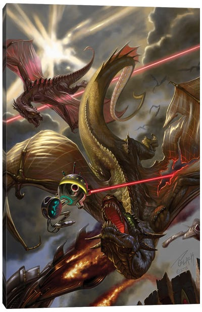 The Book of Wars Canvas Art Print