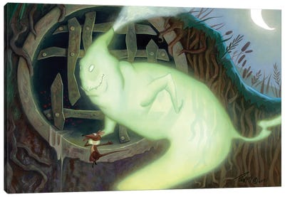 The Mouser Canvas Art Print