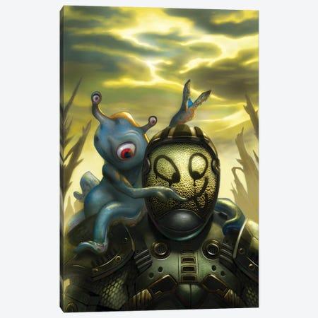 Future Wars Canvas Print #APK7} by Alan Pollack Canvas Art