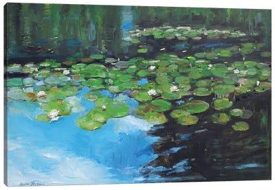 Marsh Lilies Canvas Art Print
