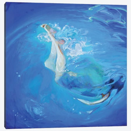 Mid Summer Canvas Print #APM12} by Arun Prem Canvas Wall Art