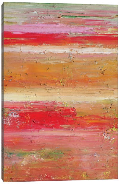 Pink Sunset Canvas Art Print