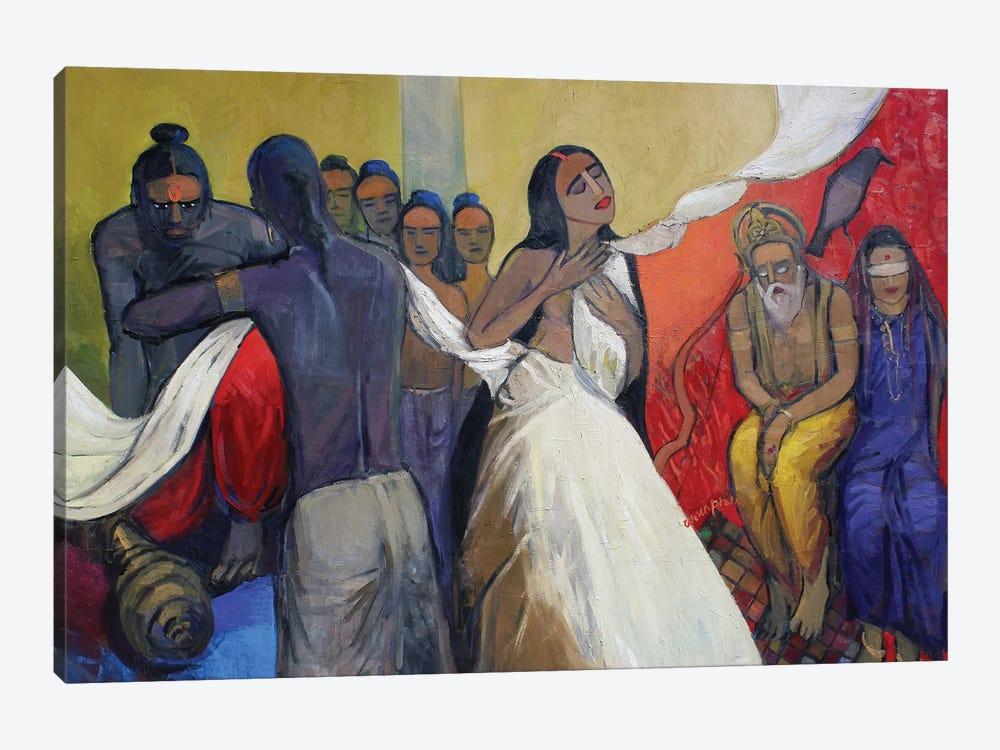 Seeds Of War by Arun Prem 1-piece Canvas Artwork