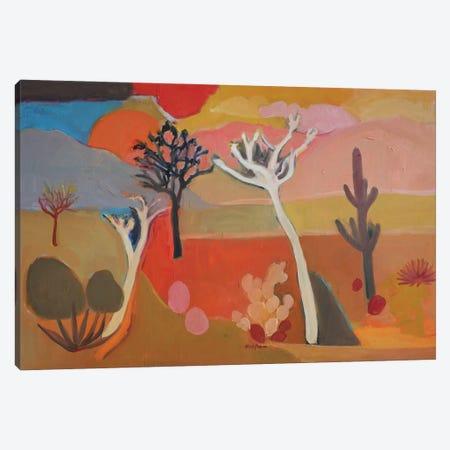 Pink Sky Canvas Print #APM20} by Arun Prem Canvas Art Print