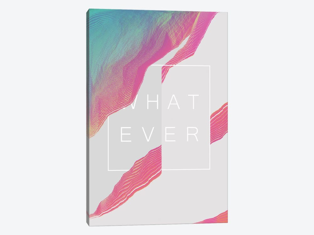 Whatever by Adam Priester 1-piece Canvas Print
