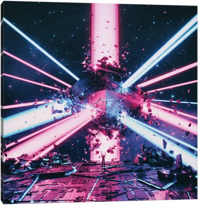Hellstar Canvas Art Print