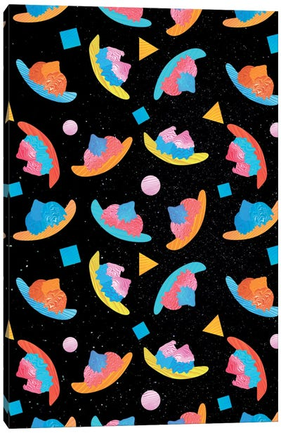 Cosmic Banana Split Canvas Art Print