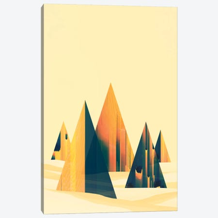 Dunes Canvas Print #APR22} by Adam Priester Canvas Artwork