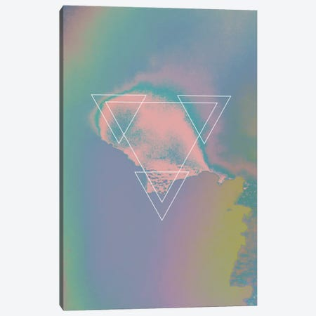 Etna Holographic I Canvas Print #APR31} by Adam Priester Art Print