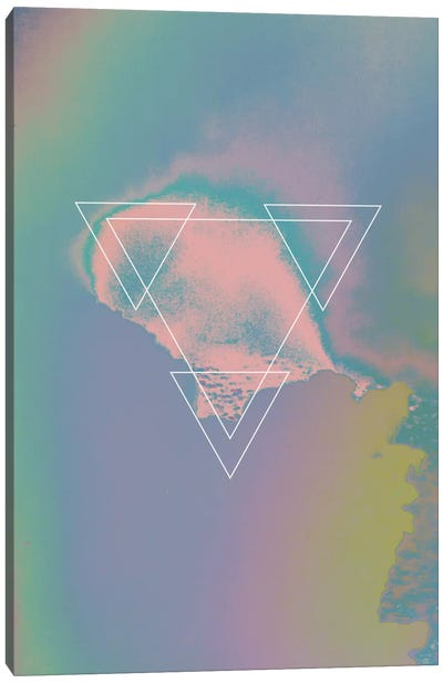 Etna Holographic I Canvas Art Print