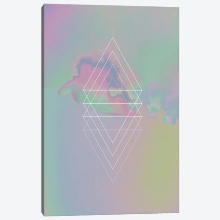 Etna Holographic II Canvas Print #APR32} by Adam Priester Art Print