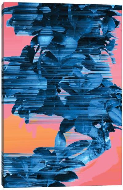Fast Blue Tree Canvas Art Print