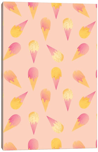 Ice Cream Canvas Print #APR51