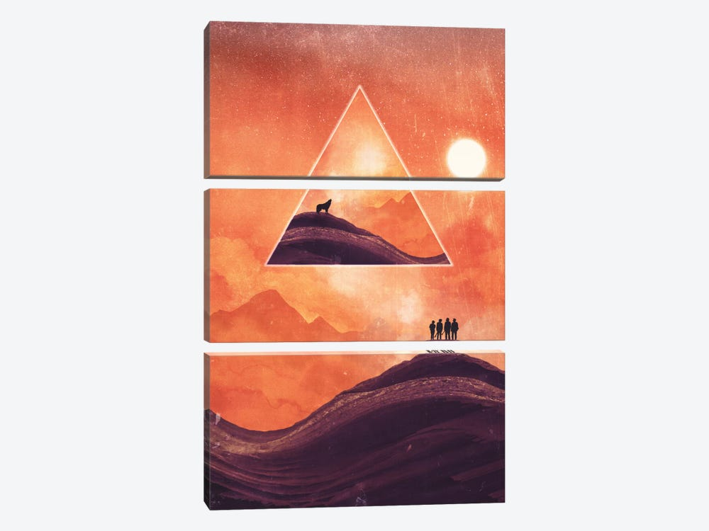Last Call by Adam Priester 3-piece Canvas Artwork