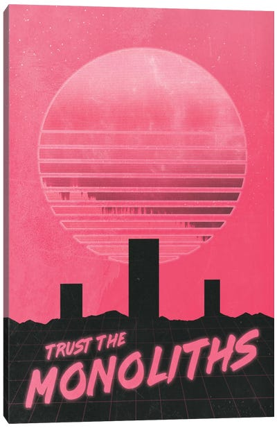 Monolithic Trust Canvas Art Print