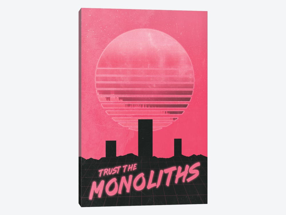 Monolithic Trust by Adam Priester 1-piece Canvas Artwork