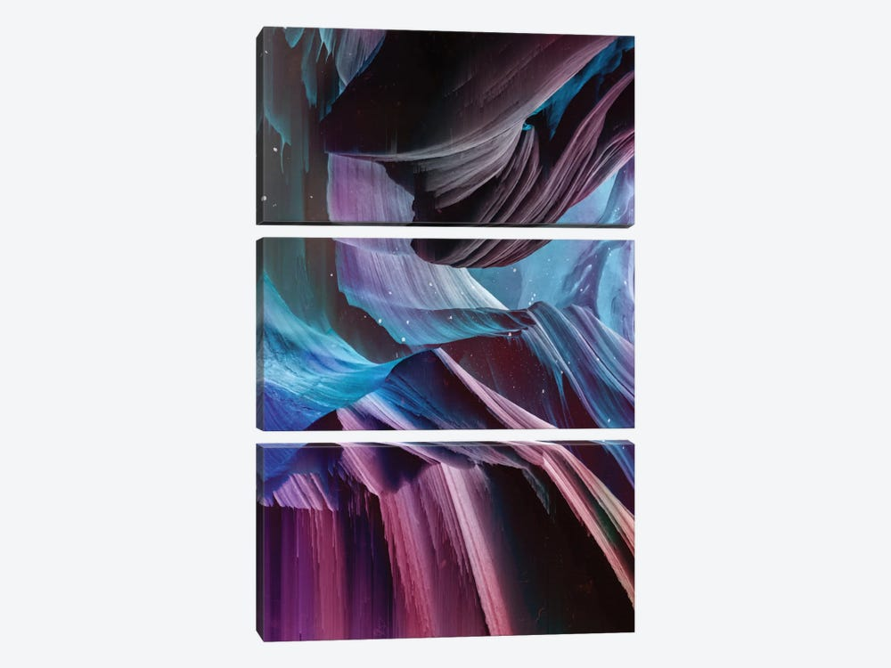 Never Seen I by Adam Priester 3-piece Canvas Print