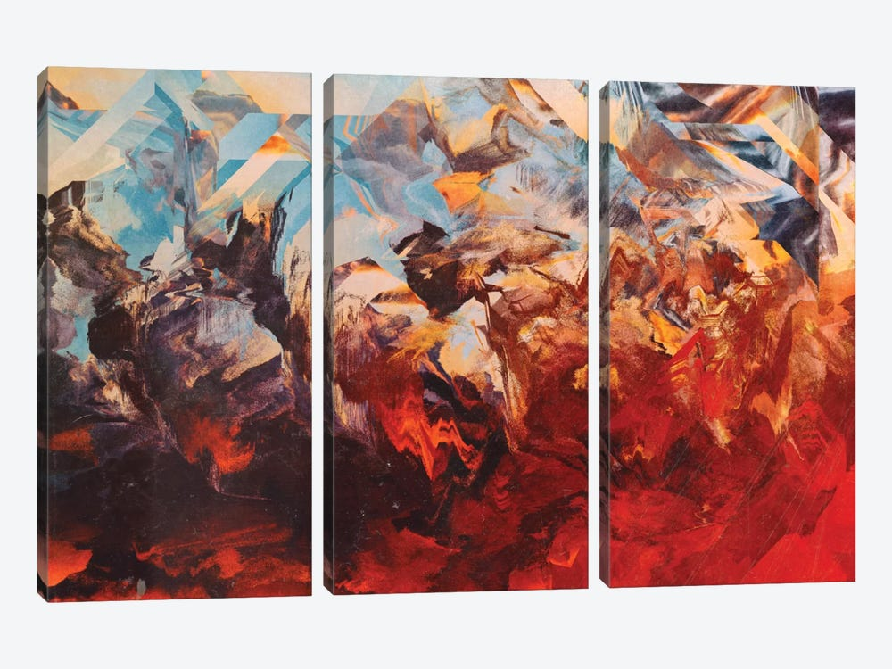Otherwordly Things by Adam Priester 3-piece Canvas Art Print
