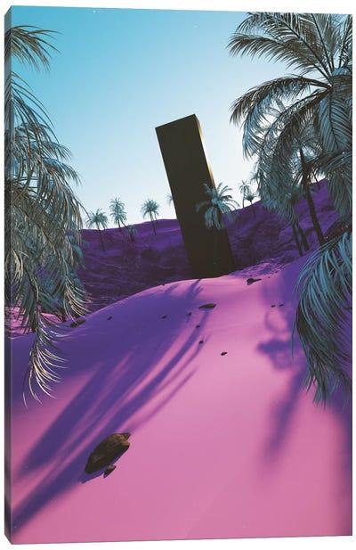 Palm King Canvas Art Print