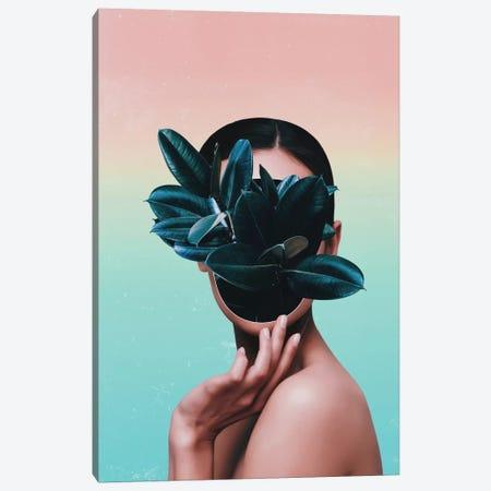 Plant Face Canvas Print #APR73} by Adam Priester Art Print