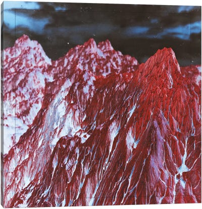 Red Mountains Canvas Print #APR74