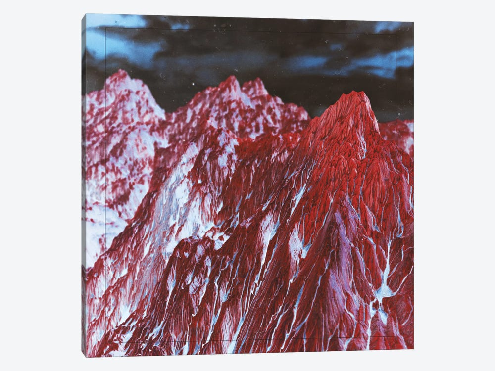 Red Mountains by Adam Priester 1-piece Art Print