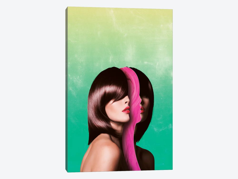 Split Hairs by Adam Priester 1-piece Canvas Art Print