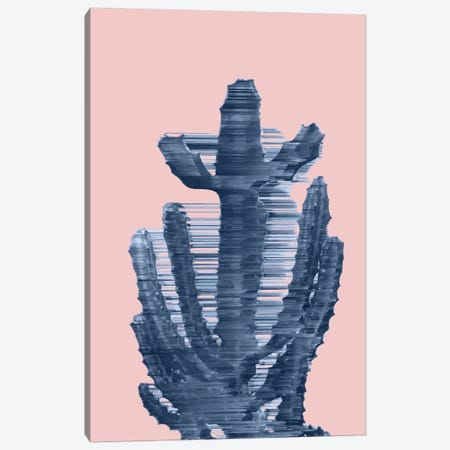 Totally Trendy Cactus Canvas Print #APR94} by Adam Priester Canvas Wall Art