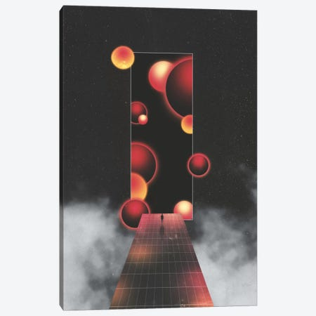 Void Vibes Canvas Print #APR98} by Adam Priester Canvas Art Print