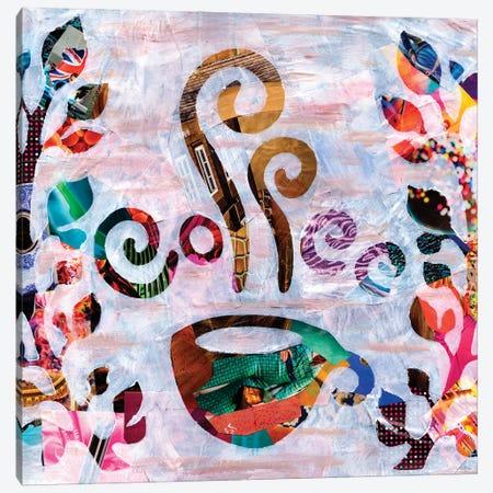 Coffee Canvas Print #APT10} by Artpoptart Canvas Art Print