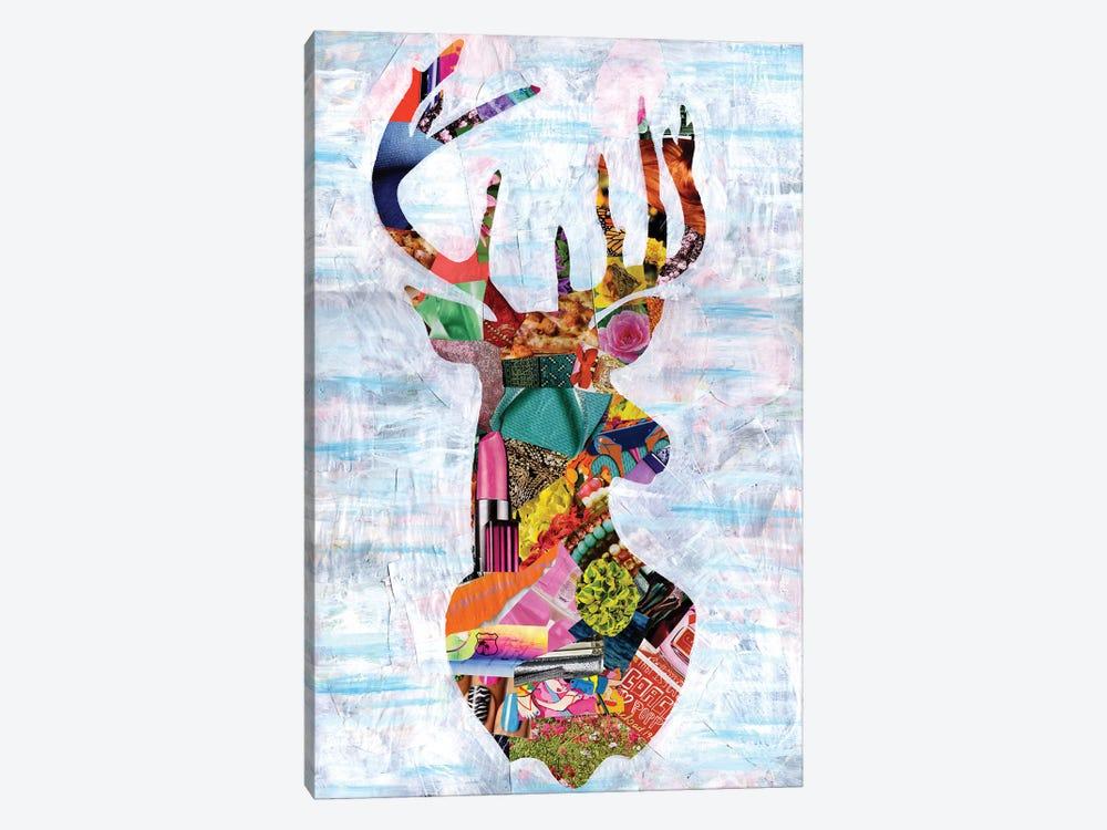 Deer by Artpoptart 1-piece Canvas Art