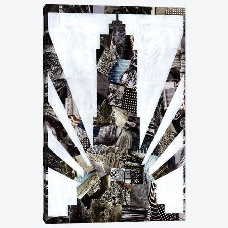 Empire State Canvas Print #APT15} by Artpoptart Canvas Artwork