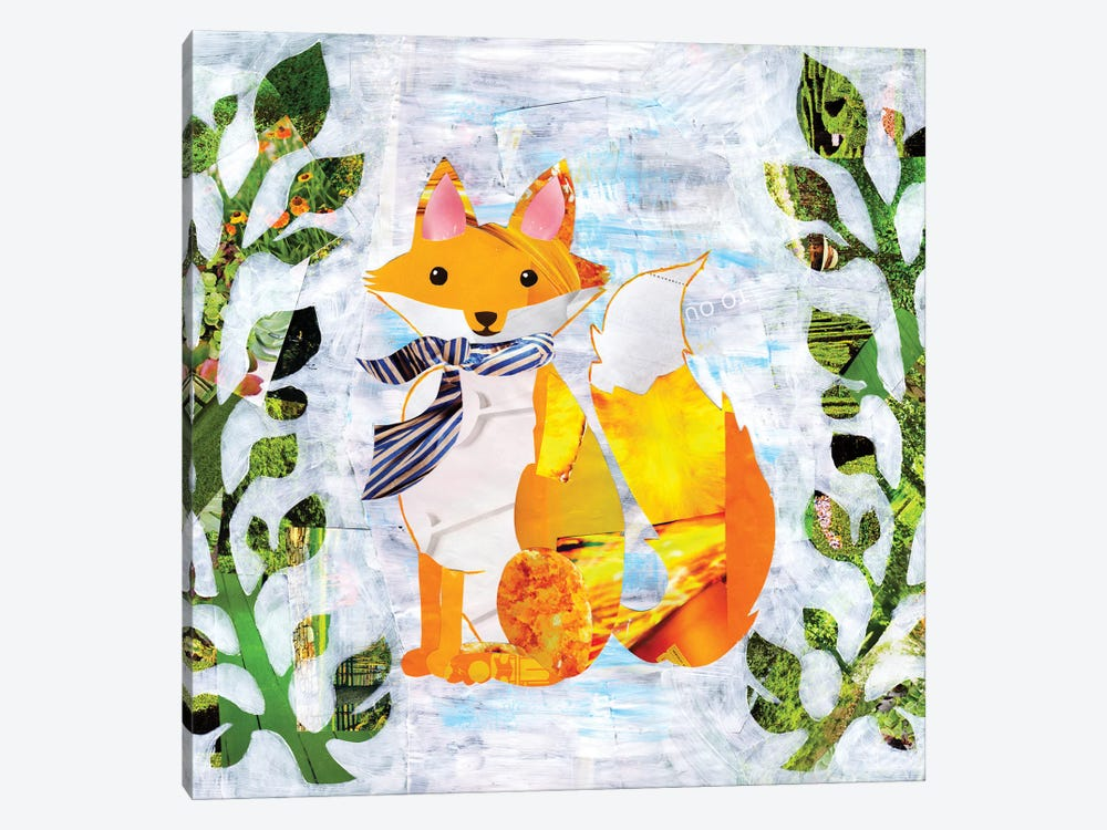Fox by Artpoptart 1-piece Canvas Print