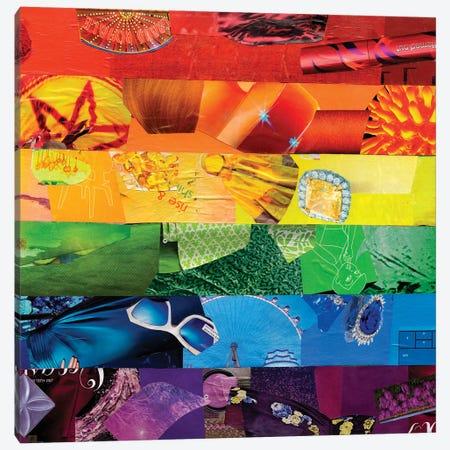 Gay Canvas Print #APT17} by Artpoptart Canvas Artwork