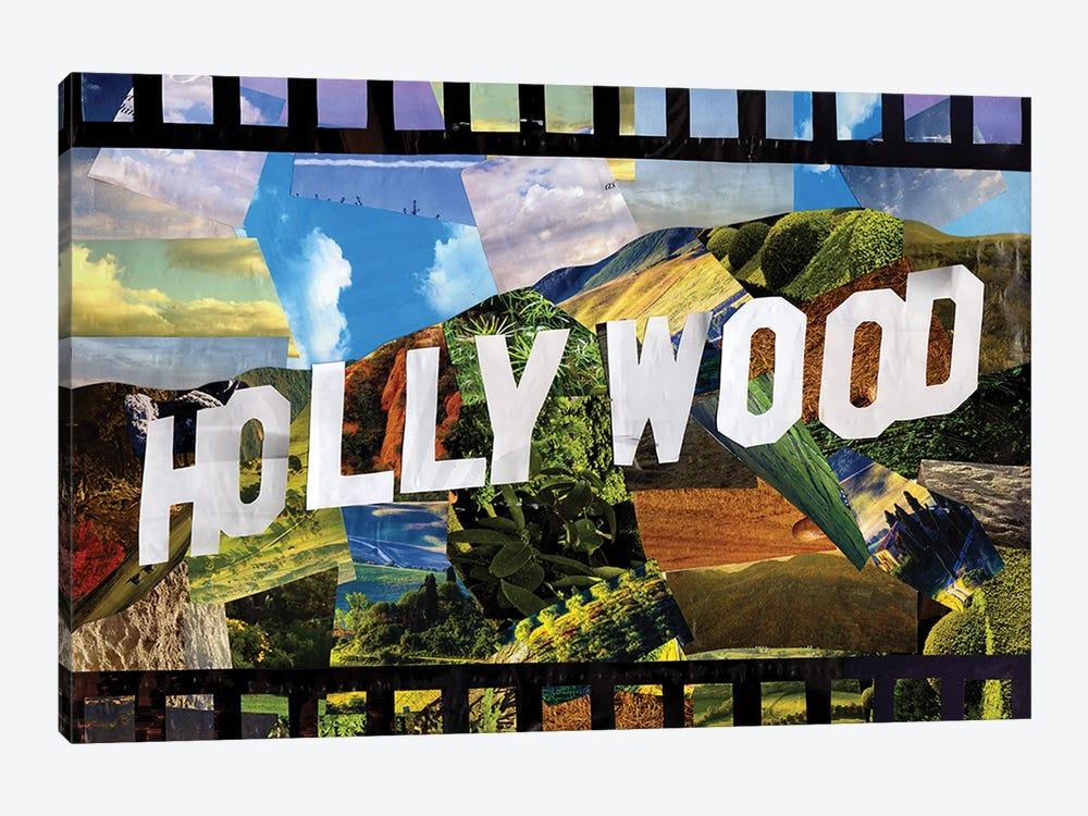 Hollywood by Artpoptart 1-piece Canvas Wall Art