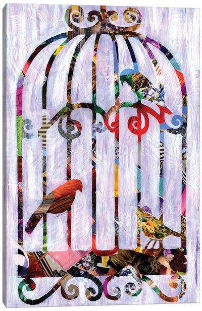 Bird Cage Canvas Art Print