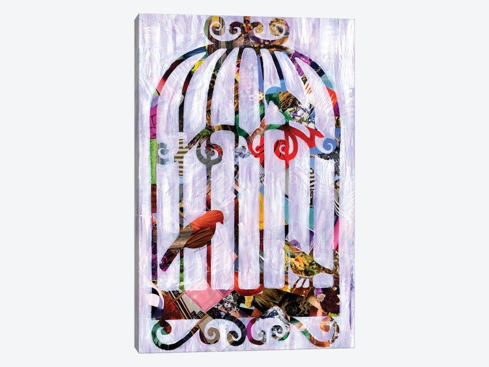 Bird Cage by Artpoptart 1-piece Canvas Print