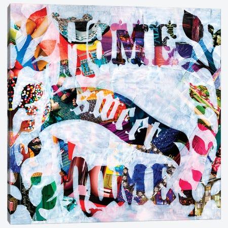 Home Sweet Home Canvas Print #APT20} by Artpoptart Canvas Wall Art