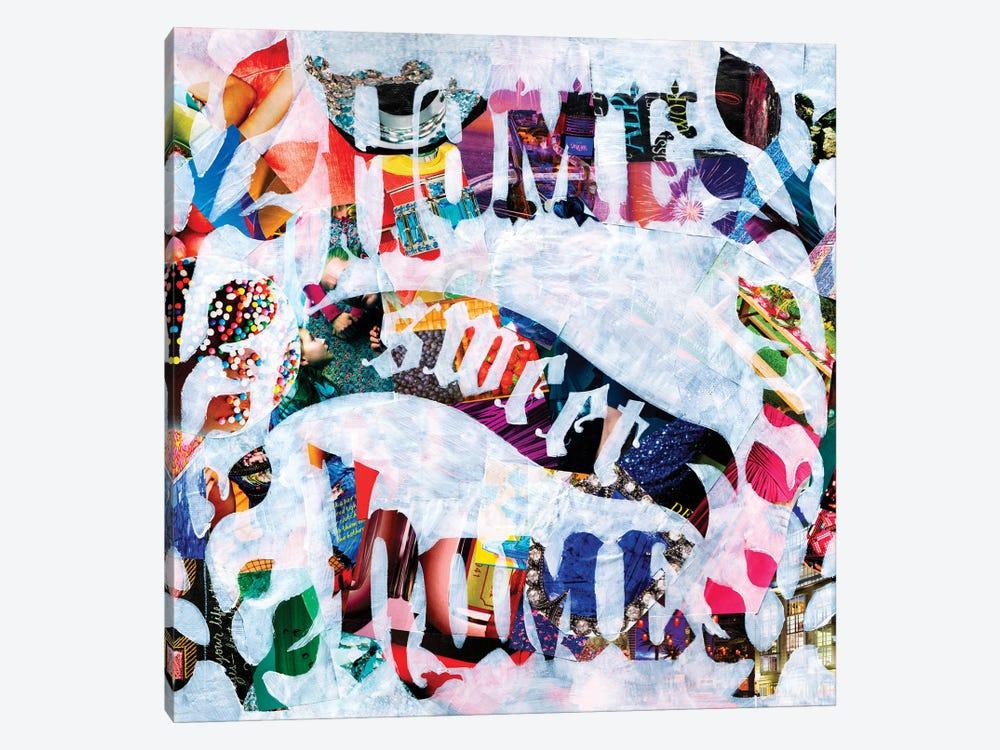 Home Sweet Home by Artpoptart 1-piece Canvas Wall Art