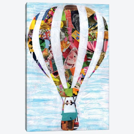 Hot Air Balloon Canvas Print #APT21} by Artpoptart Canvas Wall Art
